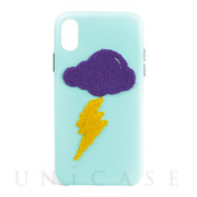 【iPhoneXR ケース】Woolly (Lightning Sky)