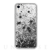 【iPhoneXR ケース】Sparkle Case (Black Stars)