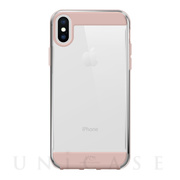 【iPhoneXS/X ケース】Innocence Case Clear (Rose Gold)