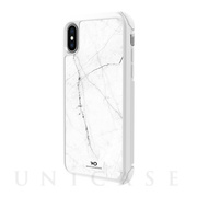 【iPhoneXS/X ケース】Tough Marble Case (White)