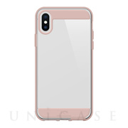 【iPhoneXS Max ケース】Innocence Case Clear (Rose Gold)
