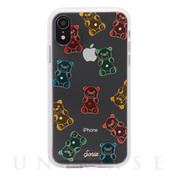【iPhoneXR ケース】EMBELLISHED CRYSTAL (RHINESTONE GUMMY BEAR)