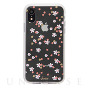 【iPhoneXR ケース】EMBELLISHED CRYSTAL (RHINESTONE FLORAL BUNCH)