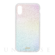 【iPhoneXR ケース】CLEAR COAT (RAINBOW GLITTER)