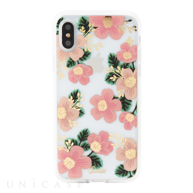 【iPhoneXS/X ケース】CLEAR COAT (SOUTHERN FLORAL)