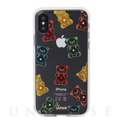 【iPhoneXS/X ケース】EMBELLISHED CRYSTAL (RHINESTONE GUMMY BEAR)