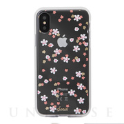 【iPhoneXS/X ケース】EMBELLISHED CRYSTAL (RHINESTONE FLORAL BUNCH)