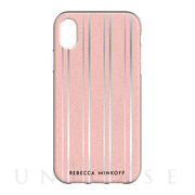 【iPhoneXR ケース】Be Flexible Case (METALLIC STRIPE)