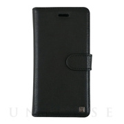 【iPhoneXS Max ケース】PROTECTIVE GENUINE LEATHER 2in1 FOLIO & HARD SHELL (BLACK)