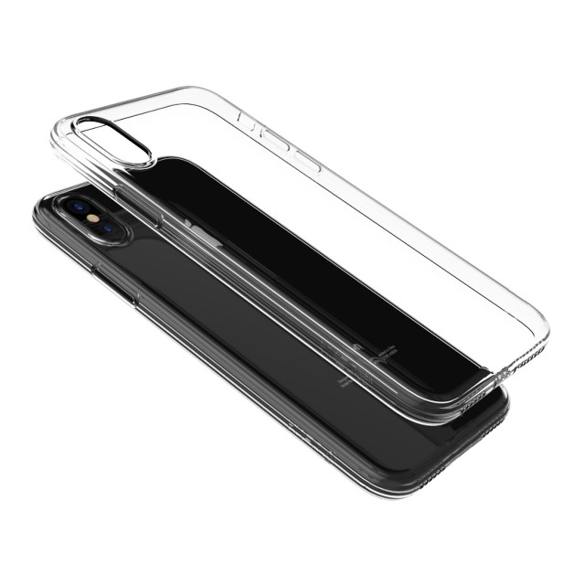 【iPhoneXS/X ケース】Naked case (Clear tea)サブ画像