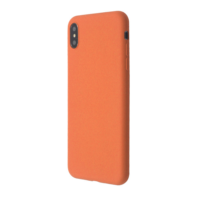【iPhoneXS/X ケース】EXTRA SLIM SILICONE CASE (Peach)サブ画像