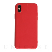 【iPhoneXS/X ケース】CANDY (SKATE) Red