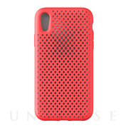 【iPhoneXR ケース】Mesh Case (Bright Red)