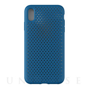 【iPhoneXS Max ケース】Mesh Case (Cobalt Blue)