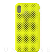【iPhoneXS Max ケース】Mesh Case (Lime Yellow)