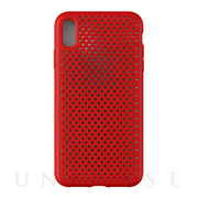 【iPhoneXS Max ケース】Mesh Case (Red)