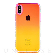 【iPhoneXS Max ケース】Aurora Series Case (Pink/Yellow)