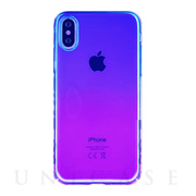 【iPhoneXS Max ケース】Aurora Series Case (Purple/Rose Red)