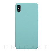 【iPhoneXS Max ケース】EXTRA SLIM SILICONE CASE (Sea Blue)