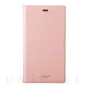 "【iPhoneXR ケース】""EURO Passione"" PU Leather Book Case (Pink)"