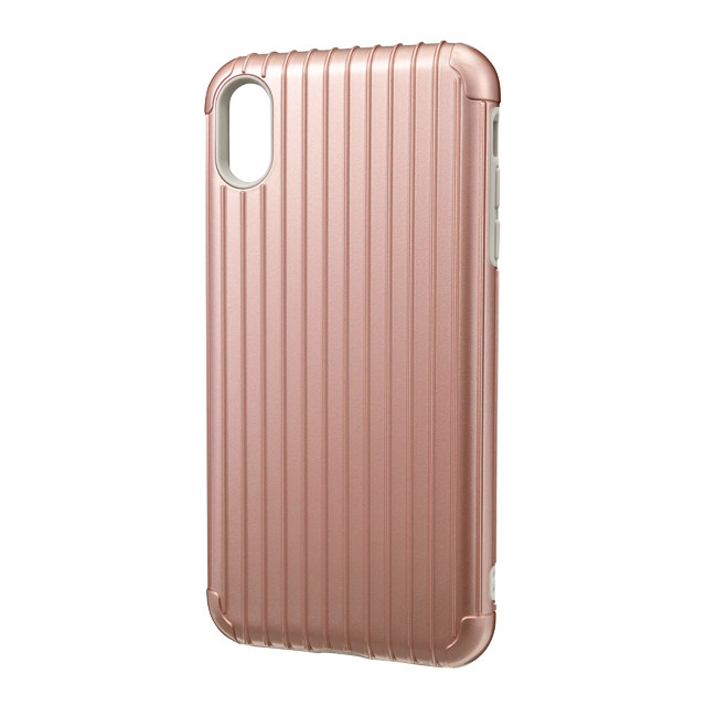 "【iPhoneXS Max ケース】""Rib"" Hybrid Shell case (Rose Gold)サブ画像"