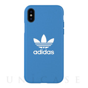 【iPhoneXS/X ケース】TPU Moulded Case BASIC Bluebird/White