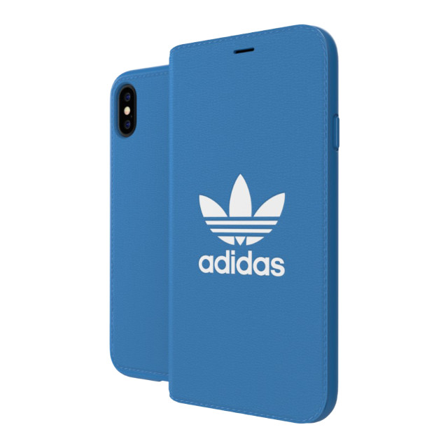 【iPhoneXS/X ケース】TPU Booklet Case BASIC Bluebird/Whiteサブ画像