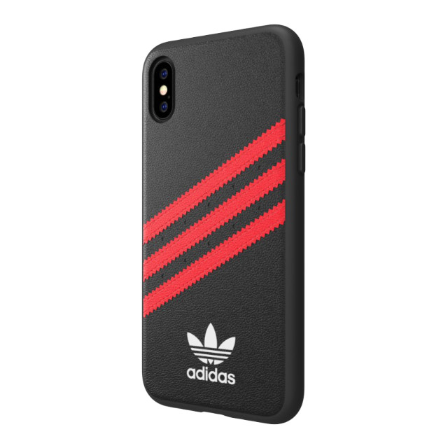 【iPhoneXS/X ケース】Moulded Case SAMBA Black/Red