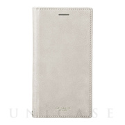 "【iPhoneXS/X ケース】""Colo"" Book PU Leather Case (Gray)"