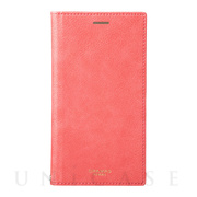 "【iPhoneXR ケース】""Colo"" Book PU Leather Case (Pink)"