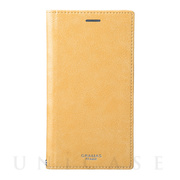 "【iPhoneXR ケース】""Colo"" Book PU Leather Case (Yellow)"