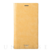 "【iPhoneXS Max ケース】""Colo"" Book PU Leather Case (Yellow)"