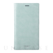 "【iPhoneXS Max ケース】""Colo"" Book PU Leather Case (Light Blue)"