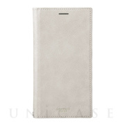 "【iPhoneXS Max ケース】""Colo"" Book PU Leather Case (Gray)"