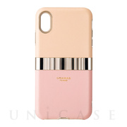 "【iPhoneXS Max ケース】""Rel"" Hybrid Shell Case (Pink)"
