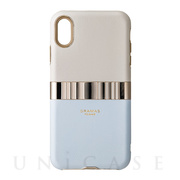 "【iPhoneXS Max ケース】""Rel"" Hybrid Shell Case (Light Blue)"