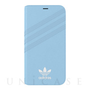 【iPhoneXS/X ケース】Booklet Case GAZELLE Blue
