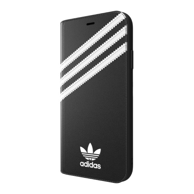 【iPhoneXR ケース】Booklet Case SAMBA Black/Whiteサブ画像