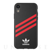 【iPhoneXR ケース】Moulded Case SAMBA Black/Red