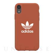 【iPhoneXR ケース】adicolor Moulded Case (Shift Orange)