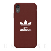 【iPhoneXR ケース】adicolor Moulded Case (Maroon)