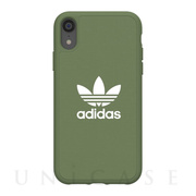 【iPhoneXR ケース】adicolor Moulded Case (Trace Green)