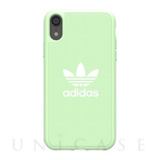 【iPhoneXR ケース】adicolor Moulded Case (Clear Mint)