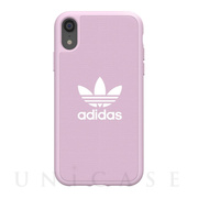 【iPhoneXR ケース】adicolor Moulded Case (Clear Pink)