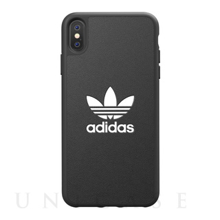 【iPhoneXS Max ケース】TPU Moulded Case BASIC Black/White