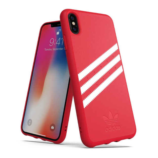 【iPhoneXS Max ケース】Moulded case Royal Red/Whiteサブ画像