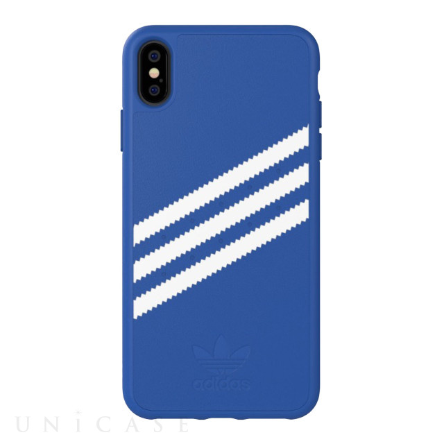 【iPhoneXS Max ケース】Moulded case Collegiate Royal/White