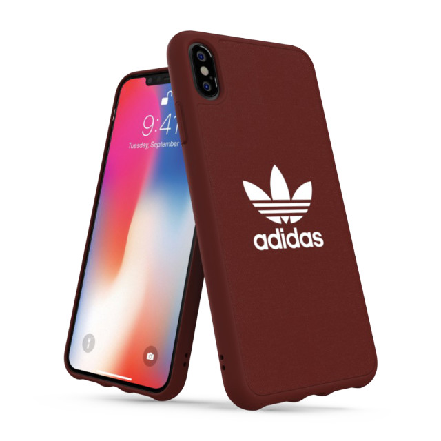 【iPhoneXS Max ケース】adicolor Moulded Case (Maroon)goods_nameサブ画像