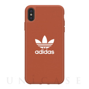 【iPhoneXS Max ケース】adicolor Moulded Case (Shift Orange)
