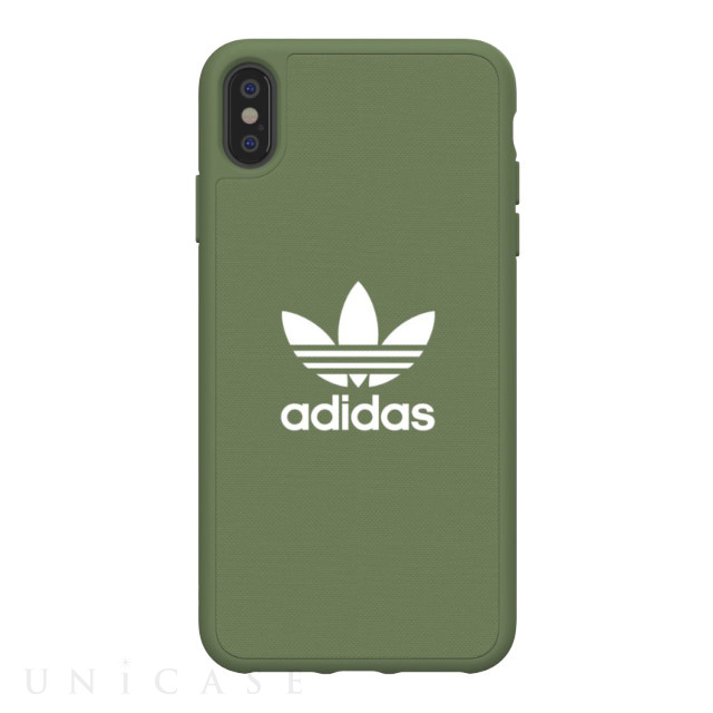 【iPhoneXS Max ケース】adicolor Moulded Case (Trace Green)